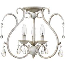 View Product - Blanca Semi-Flush Mount in Antique White