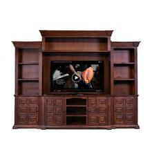 See Details - Marquis Brown Wall Unit