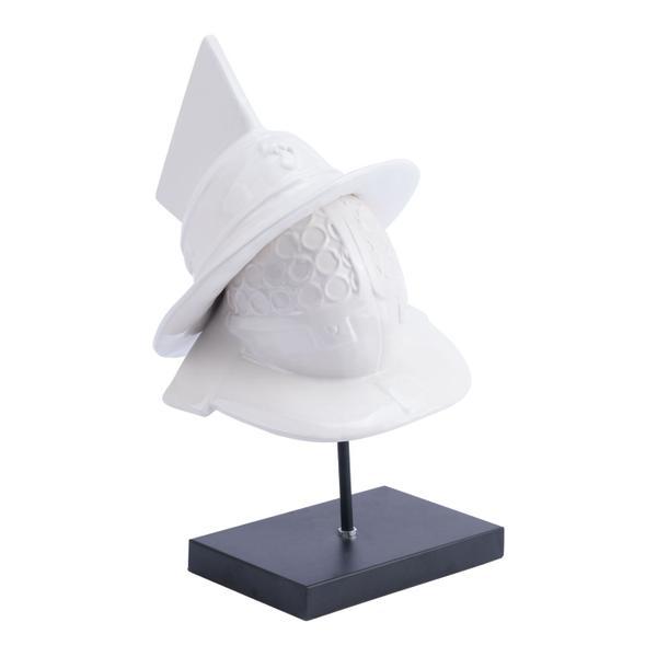 See Details - Quijote Figurine White