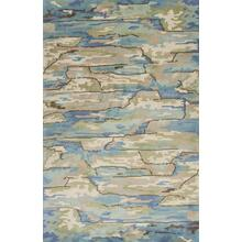 Whisper 3002 Beige/blue Landscapes 5' X 8'