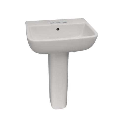 Series 600 Pedestal Lavatory - Single-Hole
