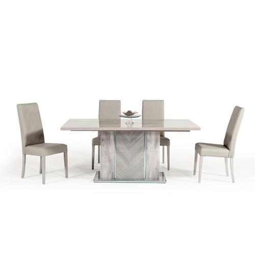 VIG Furniture - Nova Domus Alexa Italian Modern Grey Extendable Dining Table