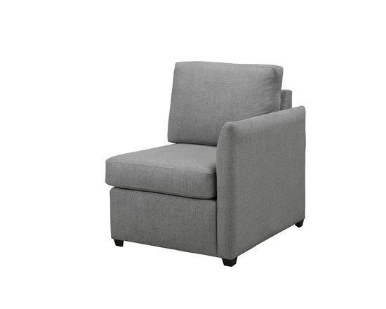 Right Arm Chair - Shown in 125-07 Penelope Mist Finish