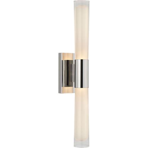 Visual Comfort - AERIN Brenta LED 4 inch Polished Nickel Single Sconce Wall Light