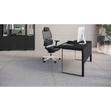 See Details - Linea 6221 Desk in Charcoal Stained Ash