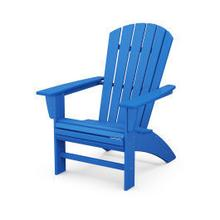 View Product - Nautical Curveback Adirondack Chair in Pacific Blue