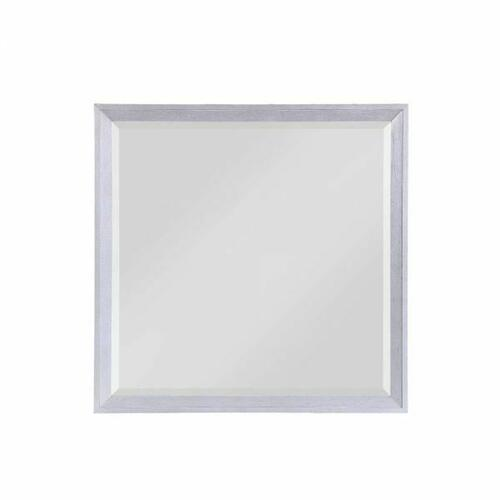 ACME Aromas Mirror - 28124 - Coastal - Wood (Poplar), Wood Veneer (Oak), MDF, Ply, PB - White Oak