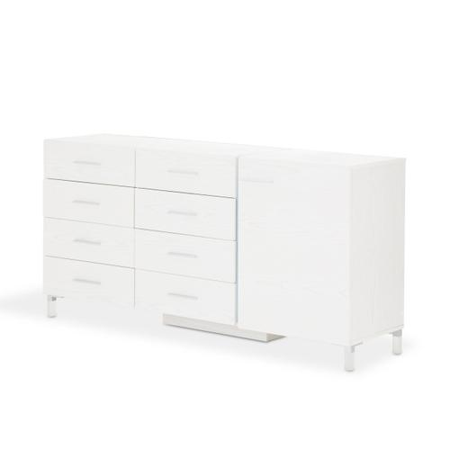 Storage Console-dresser-sideboard-credenza W/led Lighting