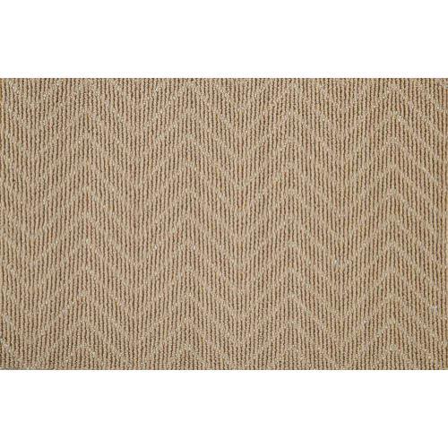 Lustrous Chevron Chvr Camel Broadloom Carpet