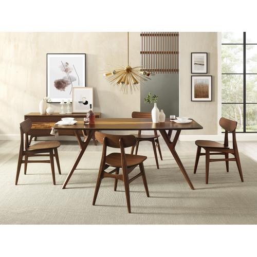 Azara Dining Table, Sable