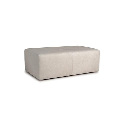 Smith Brothers Furniture - Leather Cocktail Ottoman