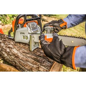 Stihl - A unique, easy-to-use filing system that sharpens your cutter and lowers your depth gauge with a few simple strokes.