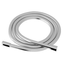 Polished Chrome Smooth Pvc Shower Hose Assembly