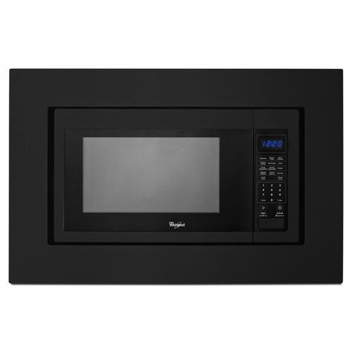 KitchenAid - 30 in. Microwave Trim Kit - Black