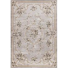 "Avalon 5604 Light Grey Aubusson 2' X 7'7"" Runner"