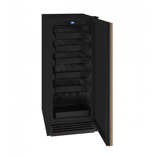"Hwc115 15"" Wine Refrigerator With Integrated Solid Finish (115v/60 Hz Volts /60 Hz Hz)"