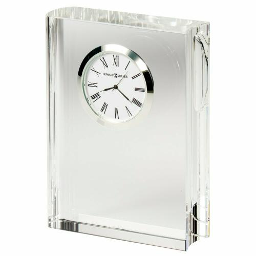 Howard Miller Scholastic Crystal Table Clock 645782