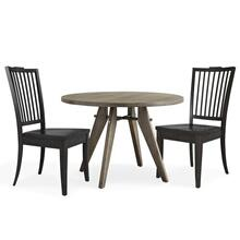 See Details - Gavin Round Table and 2 Chairs