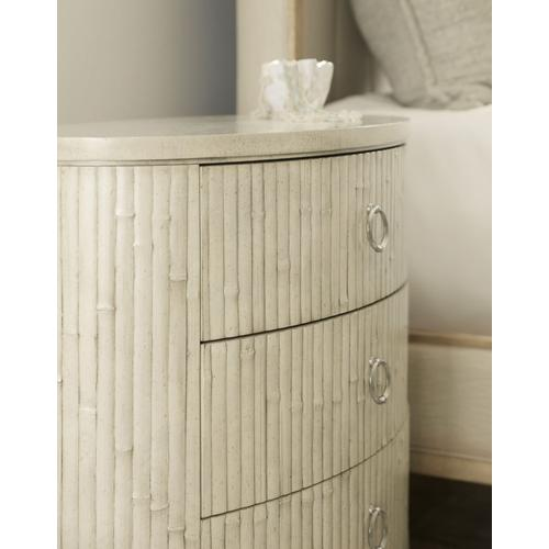 Bedroom Novella Coastal Trail Oval Nightstand
