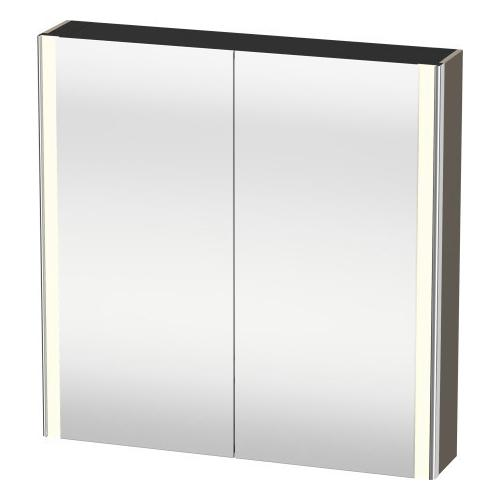 Product Image - Mirror Cabinet, Flannel Gray Satin Matte (lacquer)