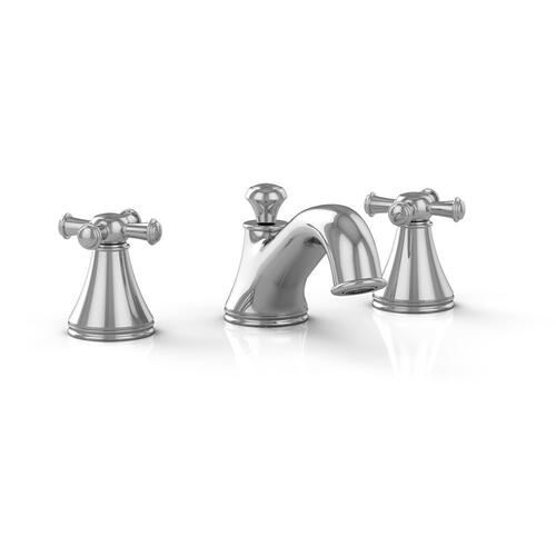 Vivian™ Widespread Lavatory Faucet with Cross Handles - Polished Chrome Finish