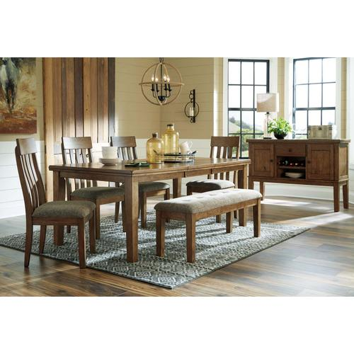 Flaybern Rect Drm Butterfly Ext Table Brown