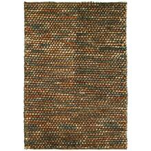 View Product - Pebble Shag Brown/Multi 5x8