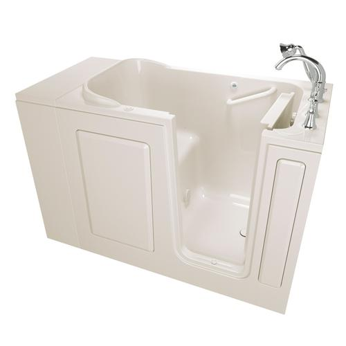 Gelcoat 28x48-inch Walk-in Tub with Air Spa System  American Standard - Linen