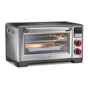 WolfElite Countertop Oven with Convection Red Knob