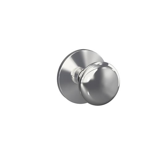Custom Plymouth Non-Turning Knob with Kinsler Trim - Bright Chrome
