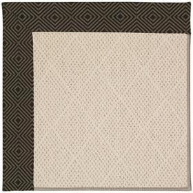 """Creative Concepts-White Wicker Fortune Lava - Rectangle - 24"""" x 36"""""""