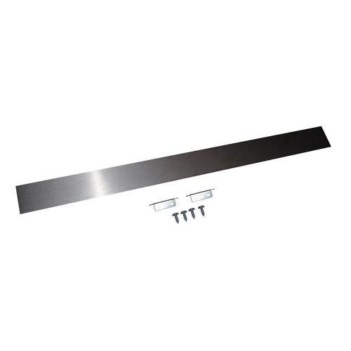 Maytag - Slide-In Range Rear Filler Kit, Stainless Steel