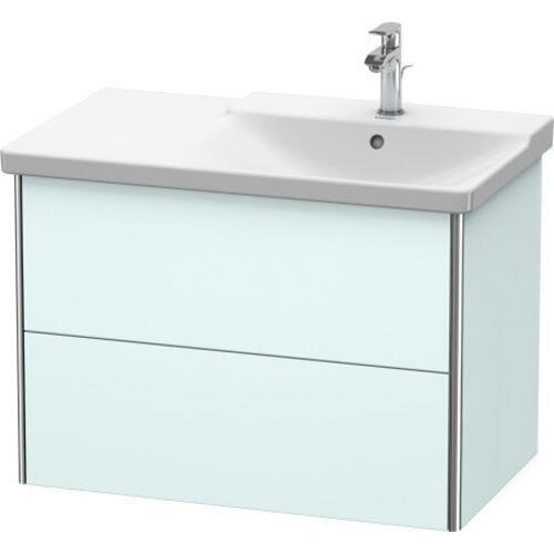 Product Image - Vanity Unit Wall-mounted, Light Blue Matte (decor)