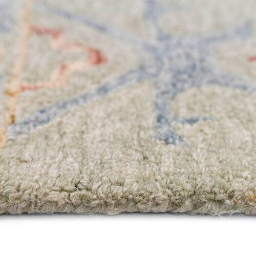 "Avanti-Oushak Natural Multi - Rectangle - 3'6"" x 5'6"""