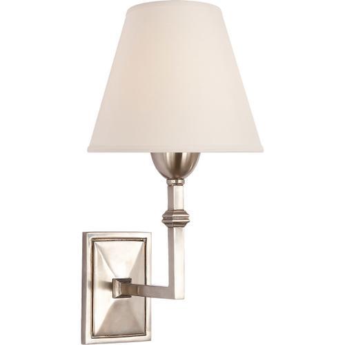 Visual Comfort - Alexa Hampton Jane 1 Light 7 inch Antique Nickel Decorative Wall Light