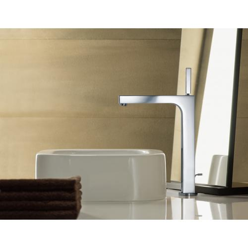Brushed Nickel Single-Hole Faucet 270 with Pop-Up Drain, 1.2 GPM