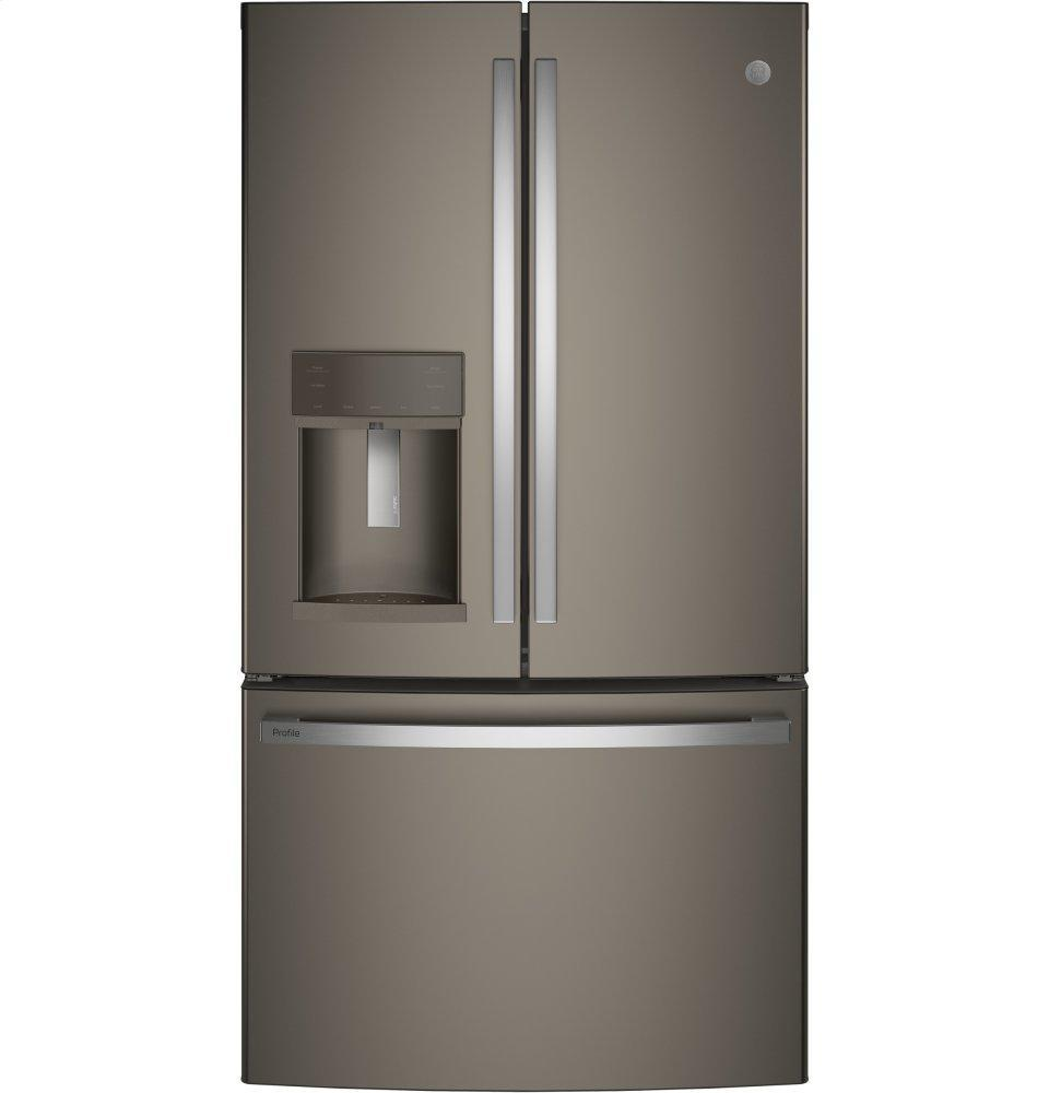 GE ProfileSeries Energy Star® 27.7 Cu. Ft. French-Door Refrigerator With Hands-Free Autofill