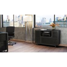 View Product - Corridor 6520 Multifunction Cabinet in Charcoal Stained Ash