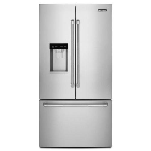 "Pro-Style® 72"" Counter-Depth French Door Refrigerator with Obsidian Interior Pro Style Stainless"