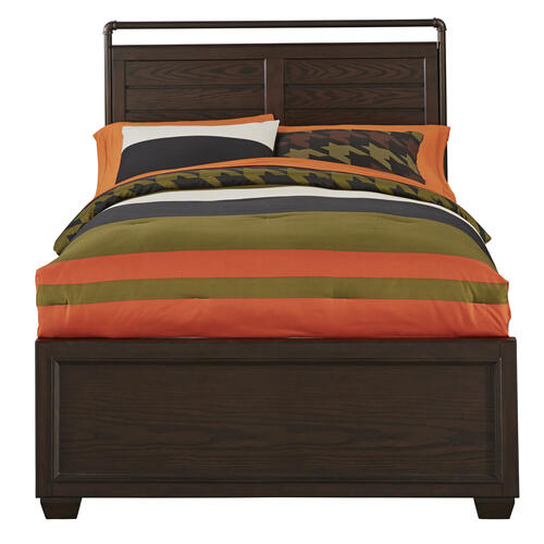 Clubhouse Headboard with Metal Trim Full