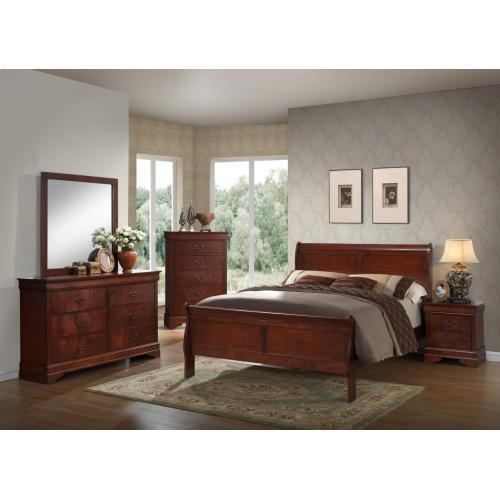 Gallery - Louis Philippe Cherry Bedroom Set