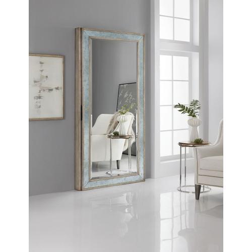Accents Melange McALister Floor Mirror w/ Jewelry Storage
