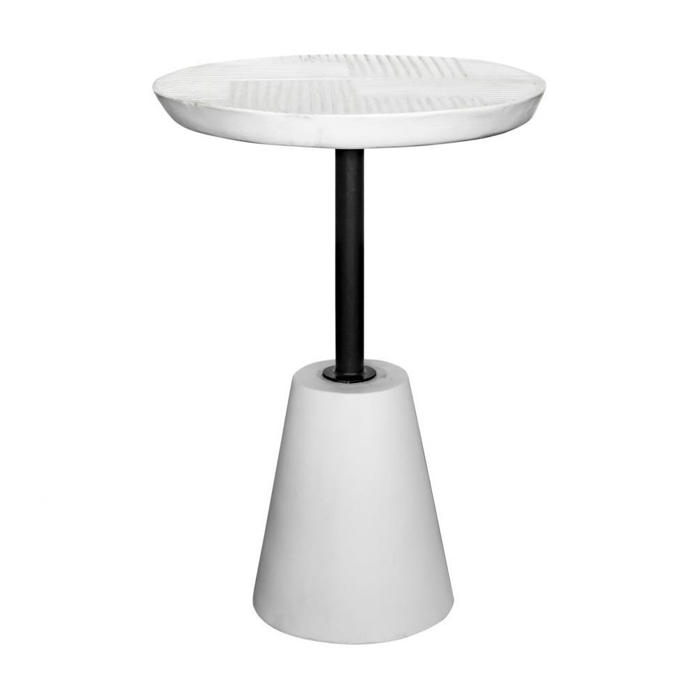 See Details - Foundation Outdoor Accent Table White