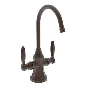 English Bronze Hot and Cold Water Dispenser