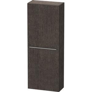 Semi-tall Cabinet, Brushed Dark Oak (real Wood Veneer)