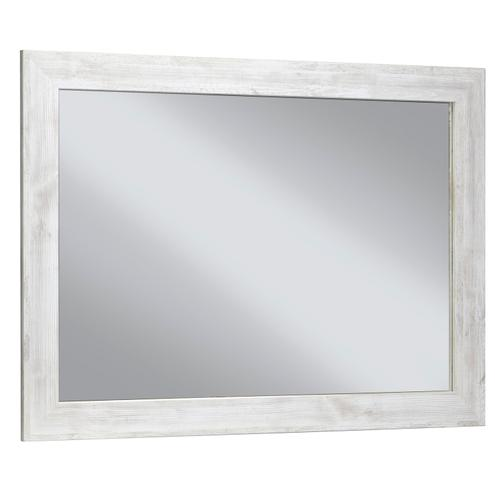 Paxberry Bedroom Mirror Whitewash