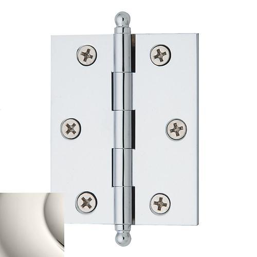 Polished Nickel Cabinet Hinge