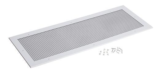Broan® Grille Kit, 18-3/8-Inch x 47-1/4-Inch, Steel, White