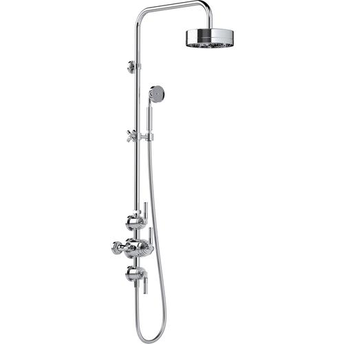 """Urban Brass Matt Lacquered Exposed 1/2"""" thermostatic shower set"""