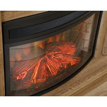 See Details - Curved Electric Fireplace Converter Kit